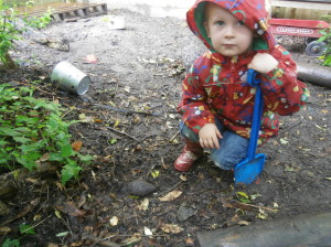 Digging in the woodland!!
