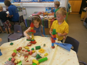 Building towers!!