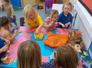 Making beautiful pictures with the fairy dust our friends left us!