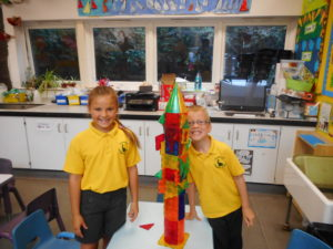 Building with the magnets