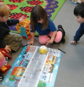 Playing with the BeeBot