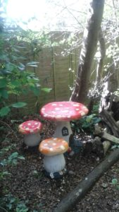 Have a picnic with the woodland fairies